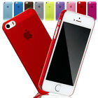 Ultra Thin Crystal Clear Transparent Case Cover for Apple iPhone 5 & 5S UK Stock