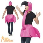 Adult Flamingo Fancy Dress Costume Bird Men Ladies Animal Male Female Stag Party