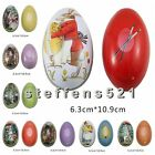 Easter Egg Tin Boxes Kids Party Jewelry Box Trinket Gift Storage Candy Box Decor