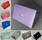 "Crystal plastic Hard Case cover for OLD Macbook White 13""inch First Gen A1181"