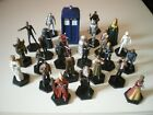 DR WHO Eaglemoss character figures and display bases