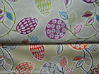 CHESS DESIGNS ANYA CASIS / BURNT ORANGE NEW 100% COTTON FABRIC CURTAINS/CUSHIONS