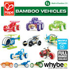 HAPE Bamboo Vehicles Full Range of Wooden Car Buggy Planes for Children Age 3yr+