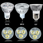 High Power 10X GU10 MR16 4W LED Bulbs 40W Lamps Spotlight Warm Day Light Bulb UK