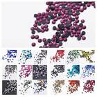 1000pcs 3mm SS10 Iron On Hot fix Faceted Crystal Glass Loose Flatback Rhinestone