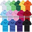 2015 Smart NEW Men Lapel Cotton Short Sleeve Shirt  Casual Sports T-shirt Tops