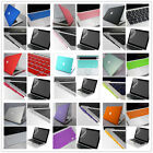 "Rubberized Hard Case Keyboard LCD Cover Plugs For Macbook Air 11""/13""inch(4in1)"