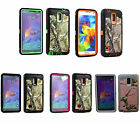Triple Layer Hybrid Camo Case For The Samsung Galaxy Note 4 IV