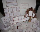 The SIMPLY ELEGANT Wedding Stationery Collection ~ Full Range ~ Any colour/Qty