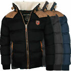 Kyпить Geographical Norway warme Designer Herren Winter Stepp Jacke Winterjacke NEU на еВаy.соm