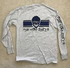 The TOY DOLLS - Blue Racing Stripe Long Sleeve Shirt 1998 US Tour New Old Stock