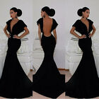 MERMAID Sexy Women Prom Ball Gown Masquerade Party Cocktail Formal Evening Dress