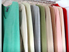 Designer ladies 100% cashmere sweaters 2 ply all colors