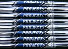 New Rifle Project X Flighted Iron Shaft Set 3 PW 50 55 60 65 70 Choose
