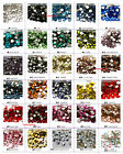 US Seller -- 30 Colors Crystal Glass Flatback Rhinestones No Hotfix  SS4 -- SS34