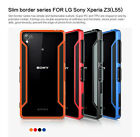 For Sony Xperia Z3 L55 Shockproof Armor Bumper Frame Nillkin Luxury Cover Case