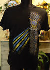 Ukrainian Men's T-Shirt.Ukraine. Black. 100% Cotton, Patriotic and Short Sleeve
