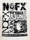 NOFX Punk Since 1983 skate punk melodic hardcore rock T-Shirt 4XL NWT!!!