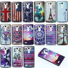 Fashion Charming Painted Hybrid Cute Lovely Hard Back Case Cover For LG G2 G3