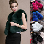 Best Sale 100% Real Genuine women Fox Fur Vest Sleeveless Waistcoat Jacket Gilet