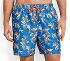 Mens $58 TOMMY BAHAMA Relax NAPLES ALOHA Tropical SWIM SUIT Elec. Marine TRUNKS