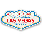 2 x Las Vegas Sign Vinyl Sticker iPad Laptop Travel Luggage Nevada Gift #4349