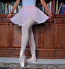 Professional lady or girl ballet dance split front pull-on chiffon skirt - New