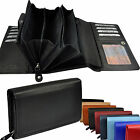 XXL Wallet 28 Fan Leather / Wallet Wallet Wallet / 6022