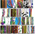 (12- 1 Dozen) Mardi Gras Beads Party Holiday Event Various Styles & Sizes RM2814