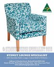 Brand New - AUS MADE Sofia Occasional Chair (Warwick fabric) Sofa Lounge Couch