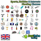 BEST QUALITY Floating Charm For Living Memory Locket *SPORTS HOBBIES INTERESTS