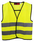 Blackrock Childs Kids Safety Hi Vis Vest Waistcoat Yellow High Viz Jacket