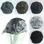 New Vintage Men's Skull Printed Duckbill Golf Driving Beret Cabbie Cool Caps Hat
