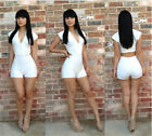 Sexy Women Clubwear Cocktail Hot  Bandage Jumpsuits Rompers Bodycon Dress UKLO
