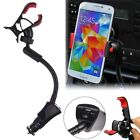 Car Cigarette Lighter USB Charger Clip Mount Holder For Cell Phone GPS MP3 iPod