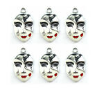 new Ghost mask Enamel Metal Charms Jewelry Making Pendants P135