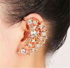 New Women Big Wing Ear Cuff Fashion Stud Earrings for Pierced Ear Left Side
