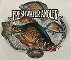 FRESHWATER ANGLER CRAPPIE FISHING SHIRT #2171