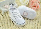 Fashion Newborn Baby Infant Toddler Unisex Soft Bottom Canvas Shoes 0-18months