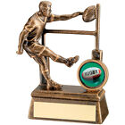 Finish Rugby award - Rugby Player Trophy  Free Engraving