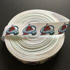 "1"" Colorado Avalanche Grosgrain Ribbon by the Yard (USA SELLER!) $4.95 USD on eBay"