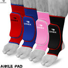 Boxing Padded Ankle Foot Support Anklet Brace Pads MMA Guard Gym Sock Protector