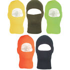 One Hole Winter Face Mask - USA Made, One Size Fits Most, Great For Cold Weather