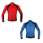 New Men's Cycling Jacket Outdoor Sport Bike Bicycle Jersey Long Sleeve L-2XL