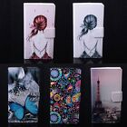 """Lovely Printing Leather Case Stand Cover For 5.5"""" Doogee Dagger DG550 Smartphone"""