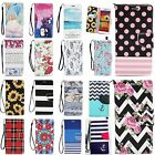 Samsung Galaxy Note 4 Case Stand Wallet PU Leather Cover Pattern Flip Skin New