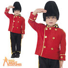 Boys Busby Guard Costume Child Royal Soldier London Uniform Book Week Outfit New