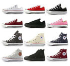 Converse Chuck Taylor Low Hi All Star Sneakers Women Men Size Canvas Shoes