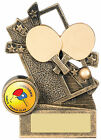 Table Tennis Award, Resin Table Tennis Trophy FREE Engraving