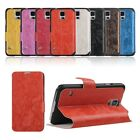 Folio PU Leather Slim Case Cover Protective for Samsung Galaxy S5 SV G900 i9600